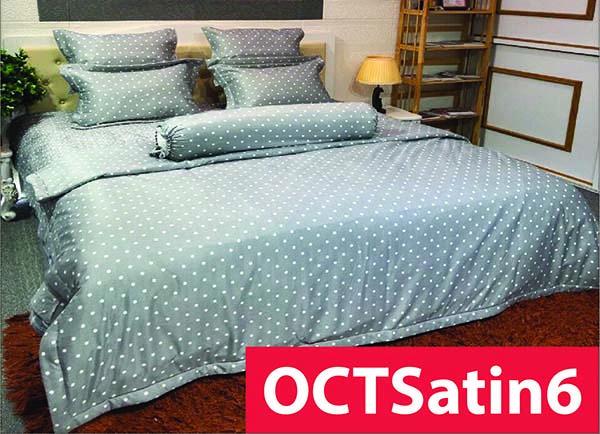 Chăn ga gối Olympia Cotton Satin 5 gối OCTSatin6